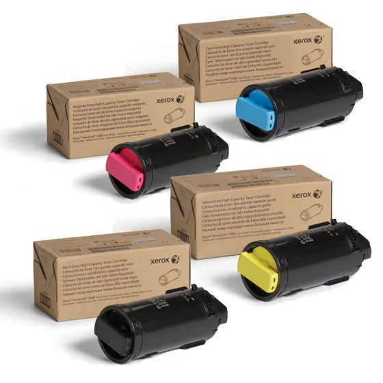 Genuine Xerox Magenta Extra High Capacity Toner Cartridge 800 Pages for use in VersaLink C600 106R03917 - 16