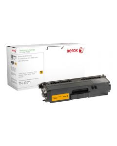 Xerox Replacement Yellow Toner Cartridge (High Capacity) for Brother HL-L8250CDN/L8350CDW, MFC-L8600CDW/L8850CDW